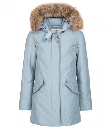 Woolrich Arctic Parka FR Girl mit Echtfell - frost blue