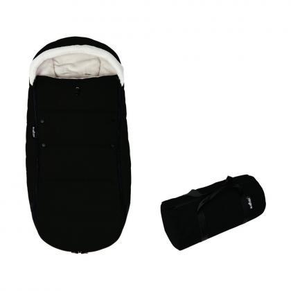 YOYO Fußsack mit Transporttasche - schwarz