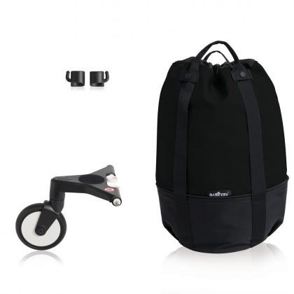 YOYO+ Bag, Rollende Tasche - schwarz