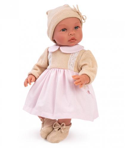 Asi Dolls doll Leo Girl, 46 cm - rose/beige