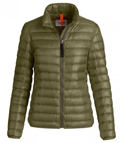 PJS Leonore light summer down jacket - military