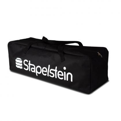 Stapelstein Tasche für bis zu 12 Stapelsteine - schwarz