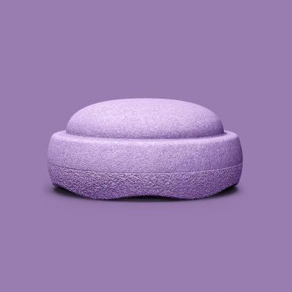 Stapelstein einzeln - violett