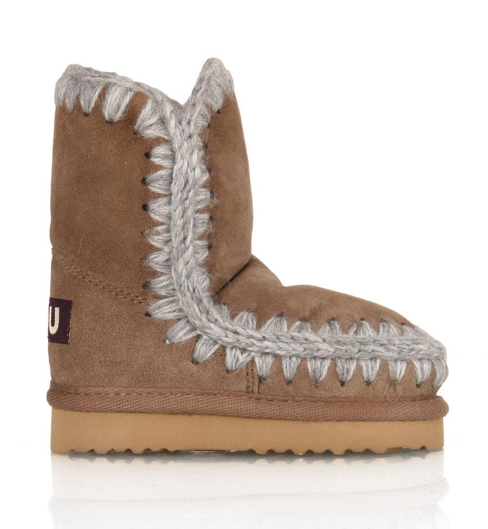841042b96b7 Kids Style Lounge | Mini Eskimo Kids shoes in dark Stone | High ...
