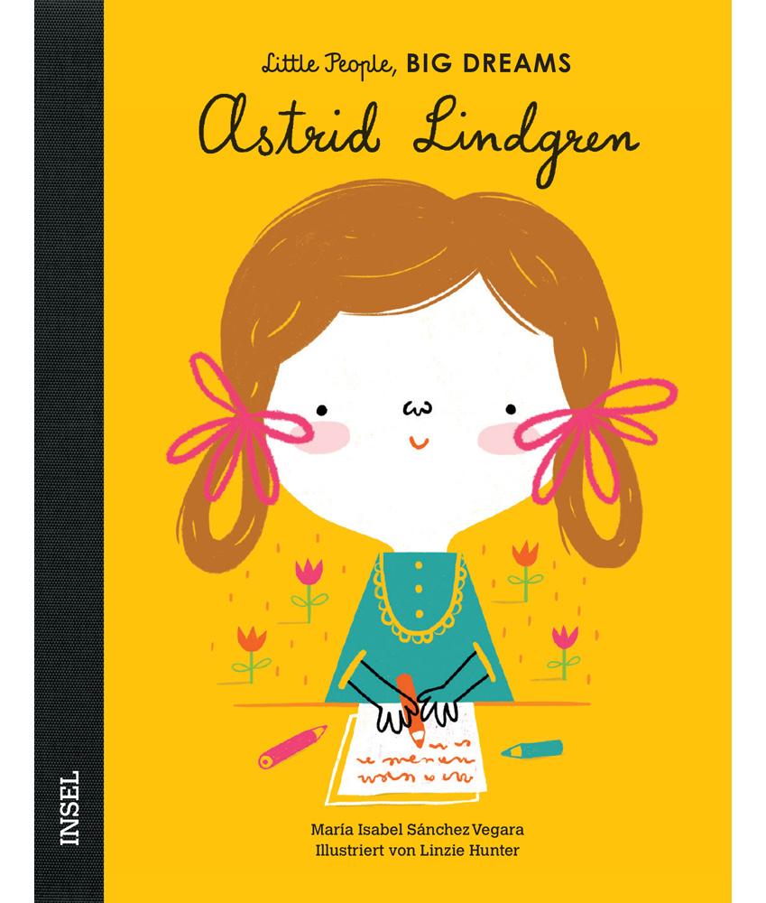 Little People, BIG DREAMS Astrid Lindgren Kinderbuch - multi