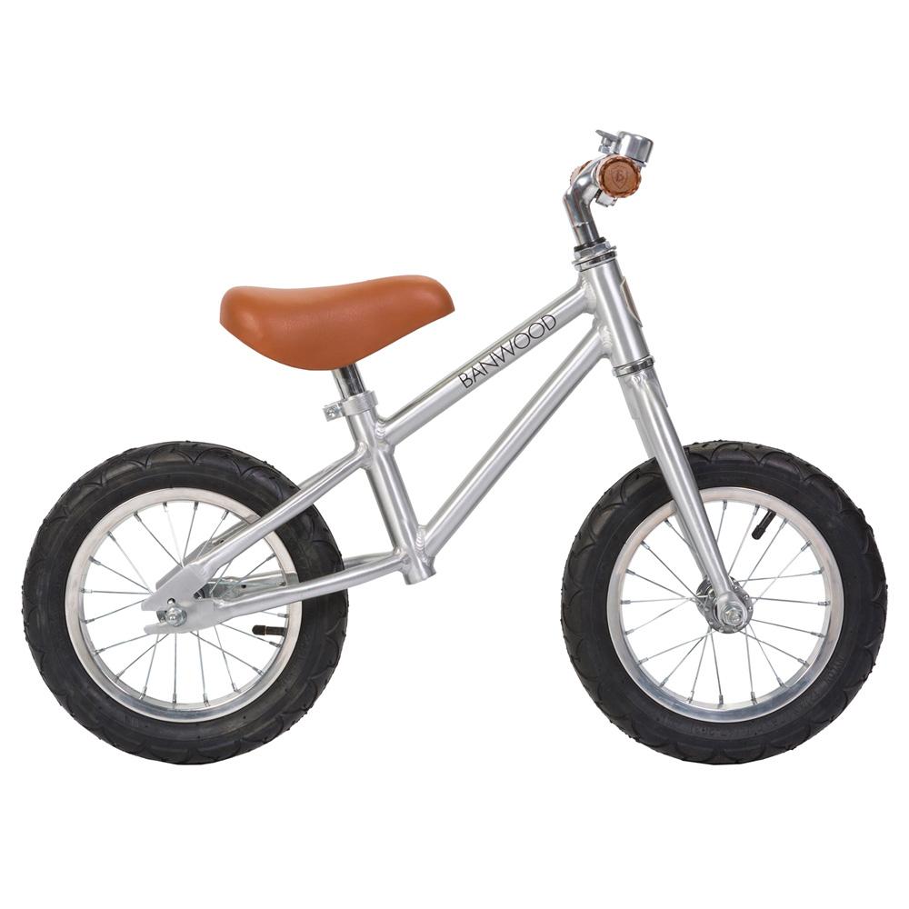 Banwood First Go  Balance Bike - Chrome