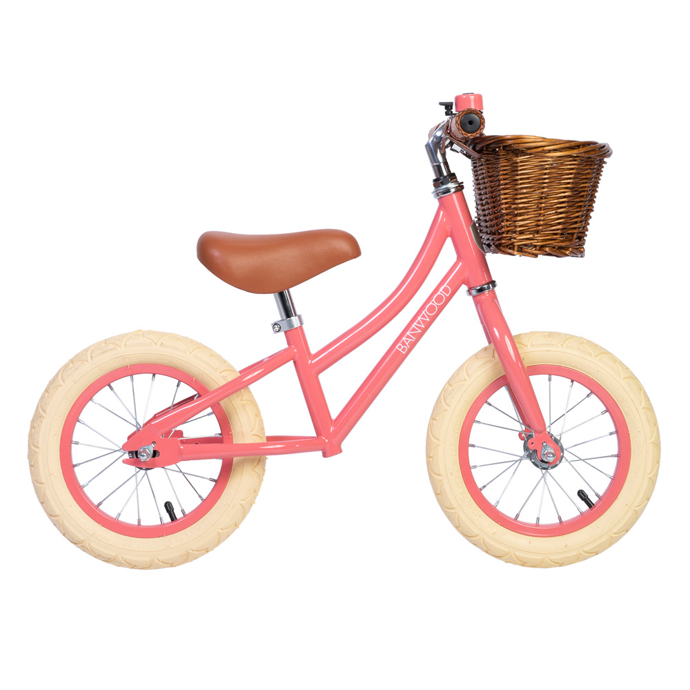 Banwood kids balance bike First Go! - Coral