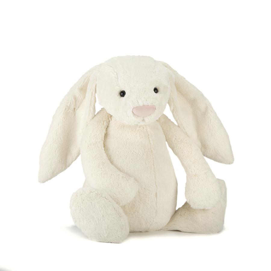 Jellycat Bashful Cream Bunny (XS-XXL)