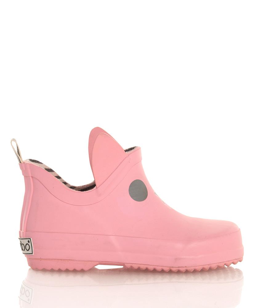 BOXBO Kerran flache Regenboots in rosa