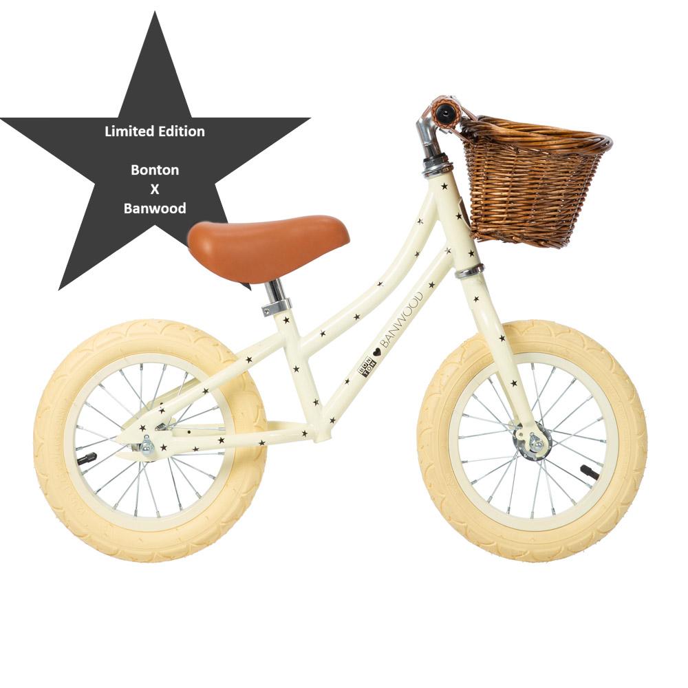 Banwood Laufrad First Go! Bonton X - Limited Edition - Creme