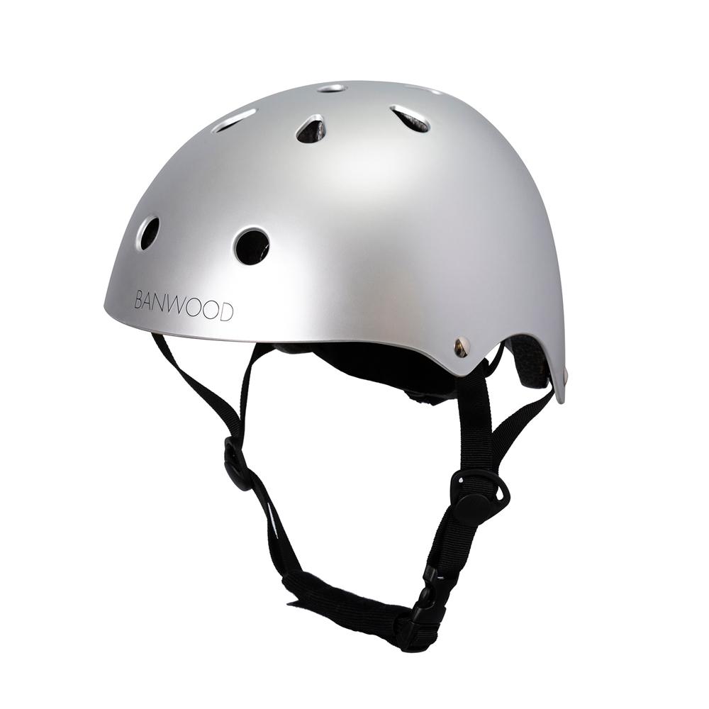 Banwood Helm für Kinder - Chrome