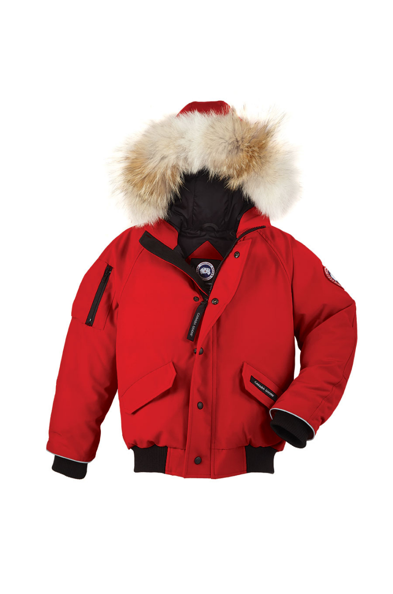 Canada Goose Kids Rundle Bomber in rot