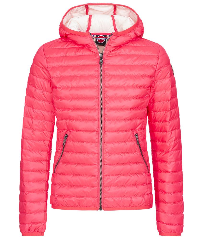 Colmar Punk summer down jacket - pink