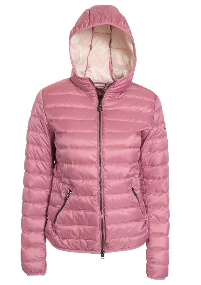 kids style lounge m dchen sommerdaunen jacke in rosa kindermode online kaufen. Black Bedroom Furniture Sets. Home Design Ideas