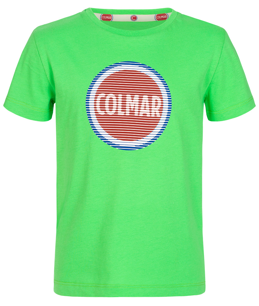 Colmar logo shirt Just - green