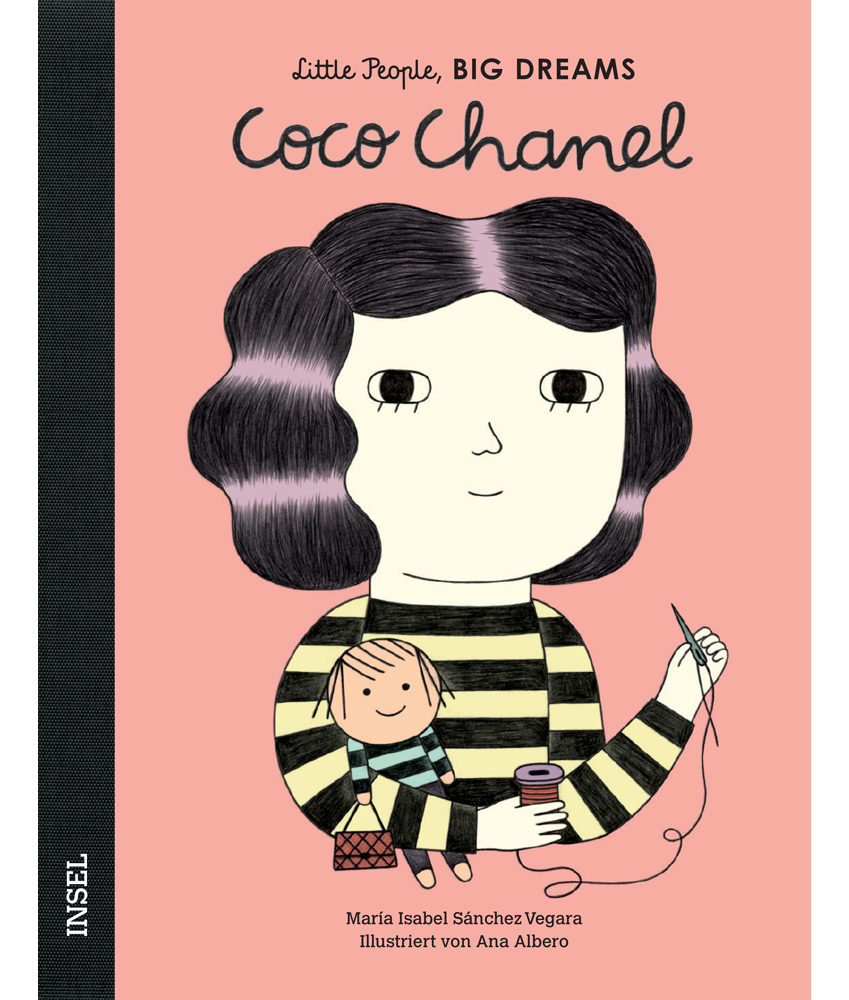 Little People, BIG DREAMS Coco Chanel Kinderbuch - multi