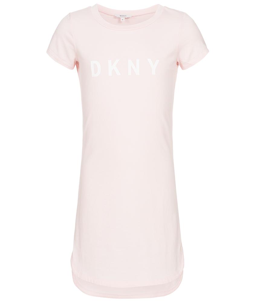 kids style lounge dkny langes basic kleid in rosa. Black Bedroom Furniture Sets. Home Design Ideas