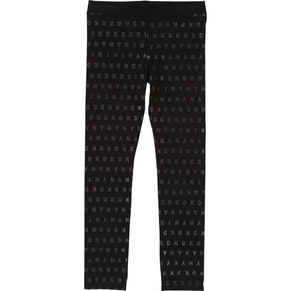 DKNY leggings with allover print - black