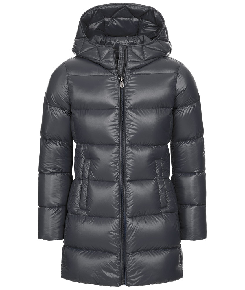 Eddie Pen Willow Daunenparka in grau