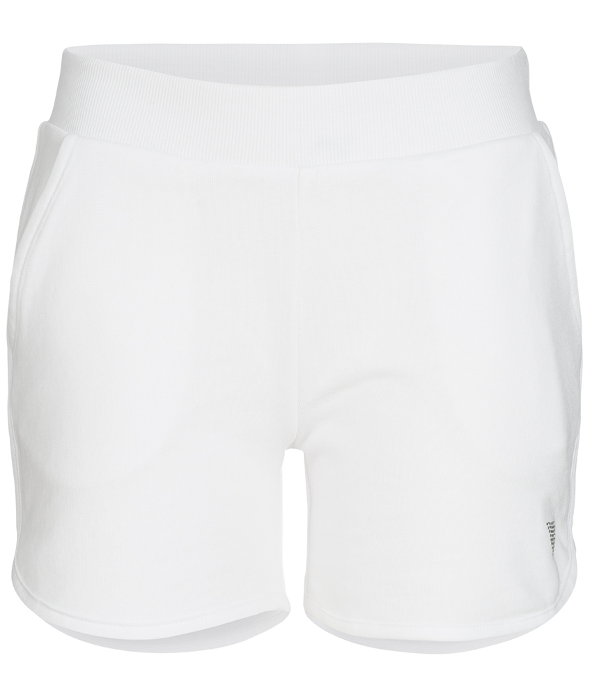 Guess Sweat-Shorts mit Glitzer-Logo in weiss