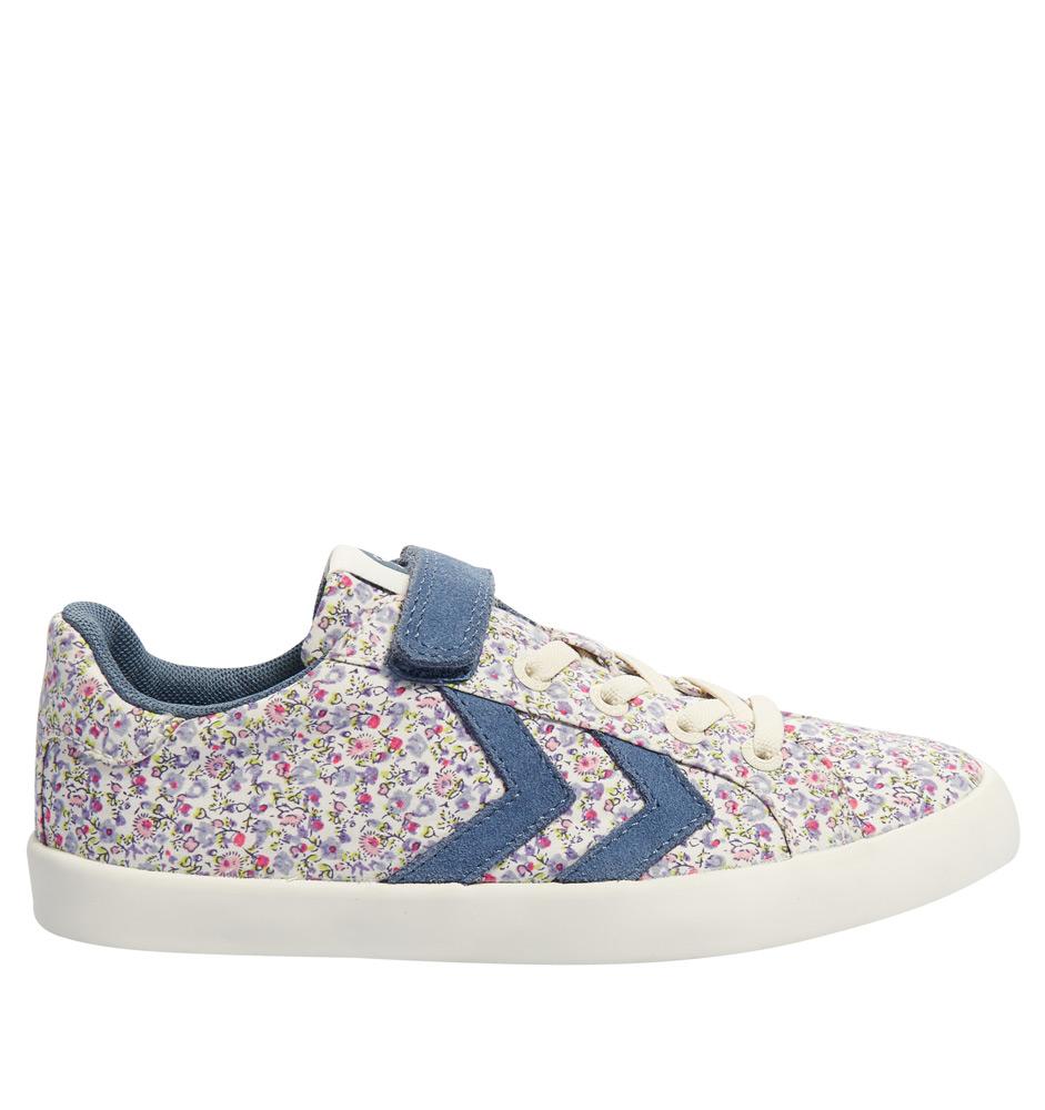 the latest 05fc9 59fec Kids Style Lounge | Hummel Sneaker Deuce Court Flower mit ...
