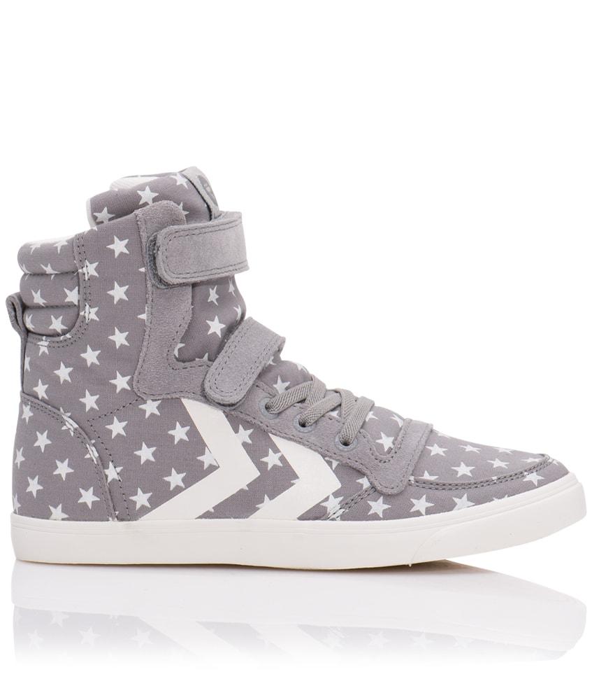 Hummel High-Sneaker Slimmer Stadil Star in grau