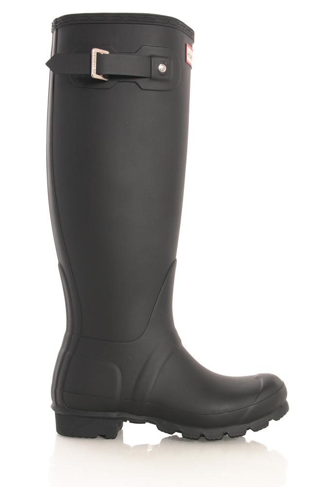 Hunter Womens Original Classic Boots in black