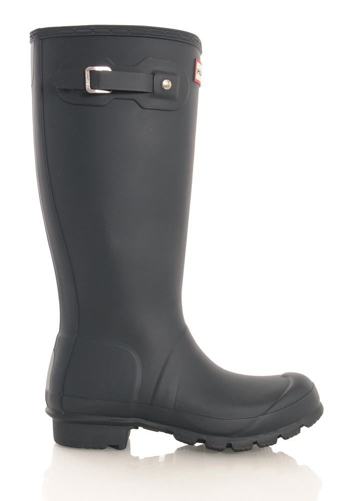 Hunter Original Kids Wellington Boots in navy