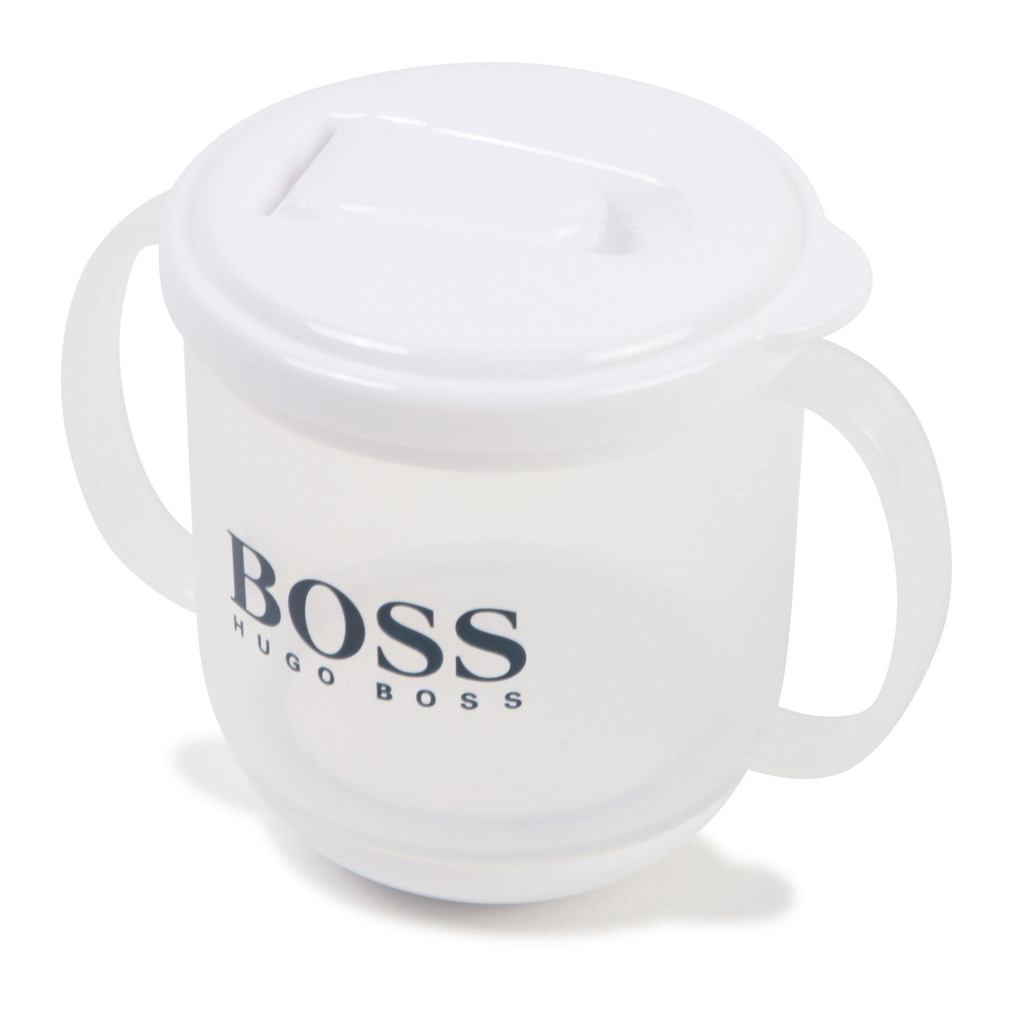 Hugo Boss baby cup - white