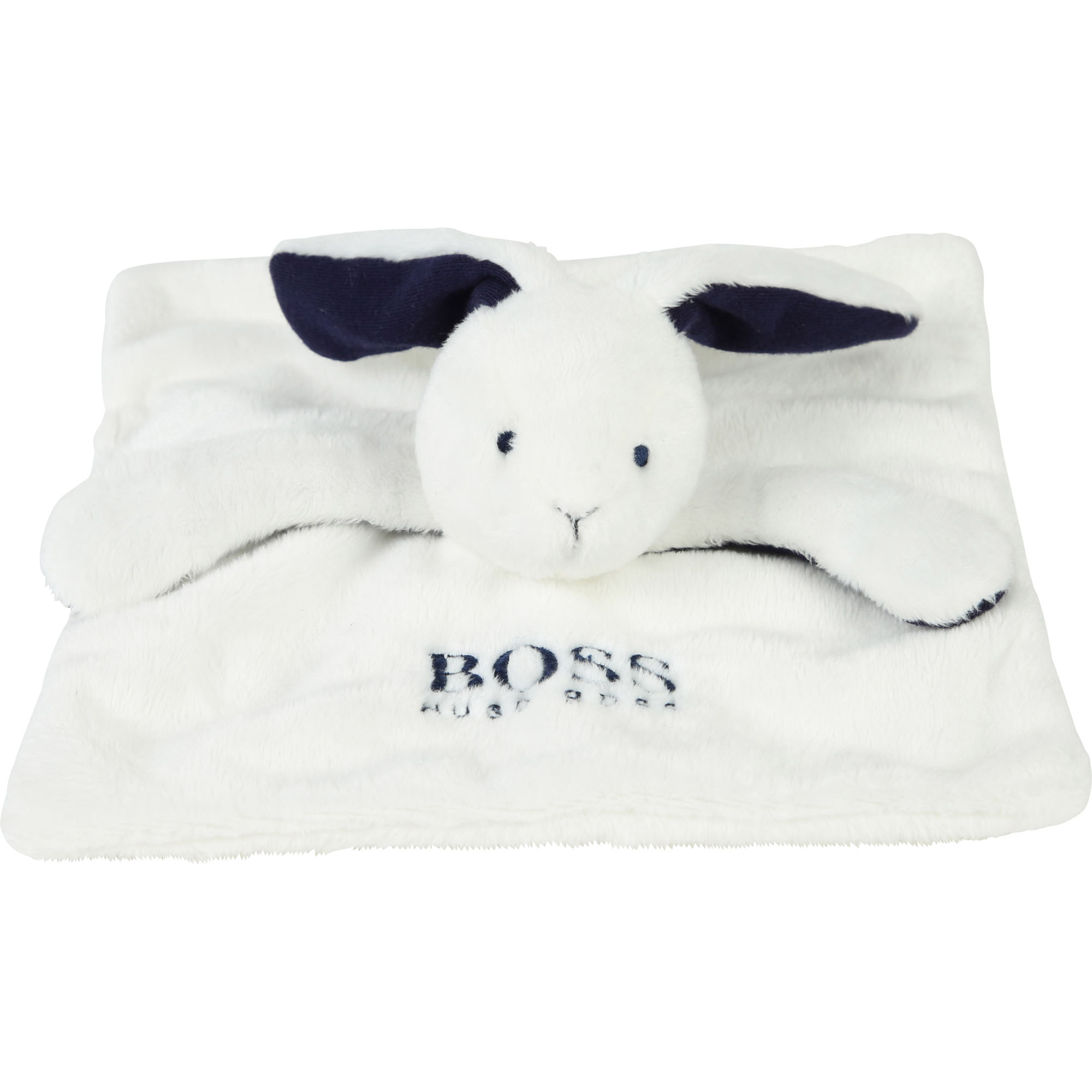 Hugo Boss baby bunny cuddly cloth - white