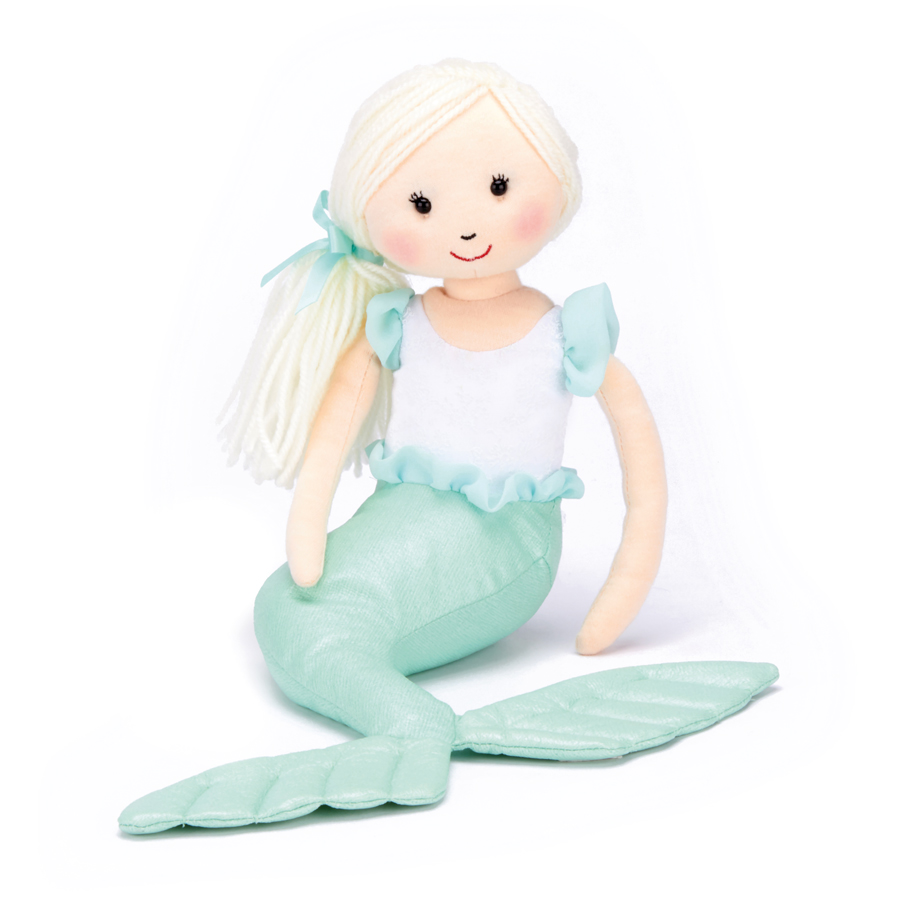 Jellycat Shellbelle Maddie - türkis