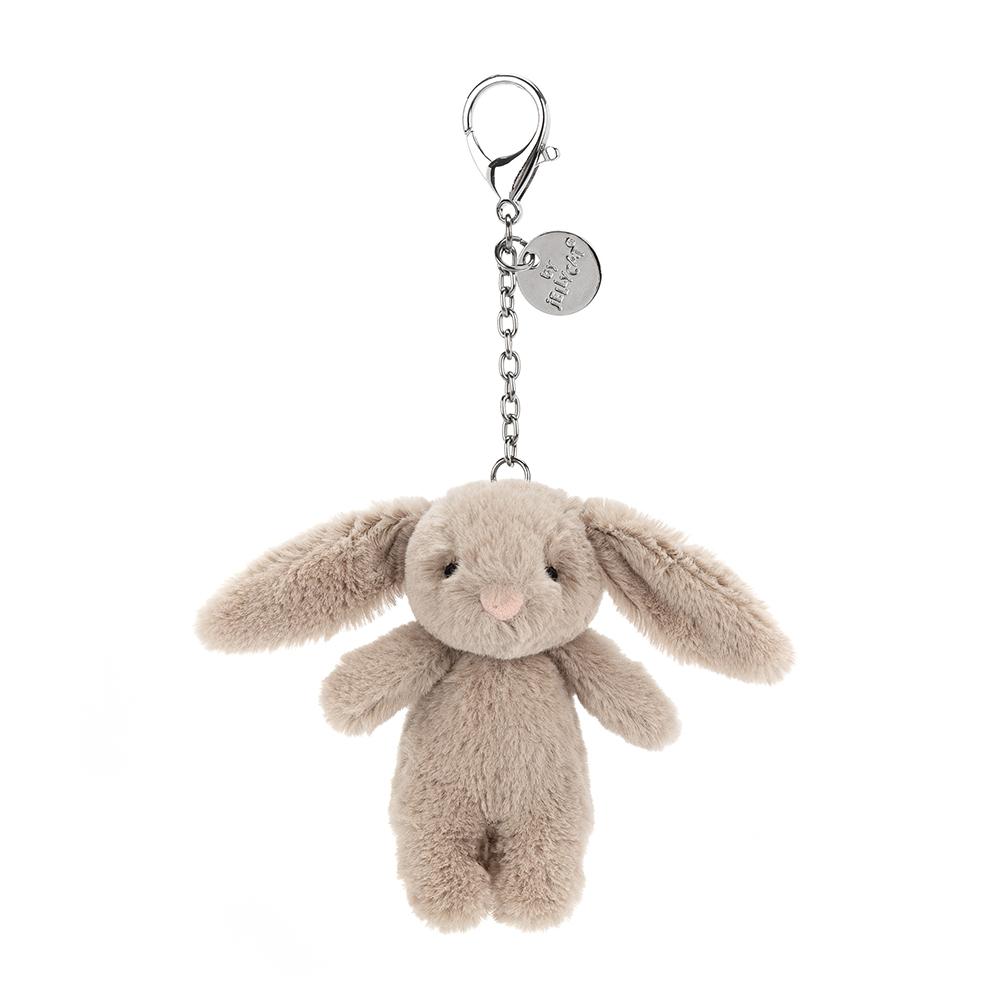 Jellycat Bashful Beige Bunny Anhänger - beige