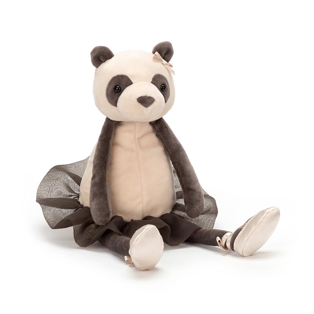 Jellycat Danicng Darcey Panda - schwarz
