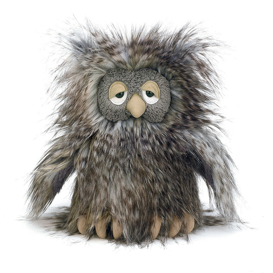 Jellycat Orlando Owl in grey