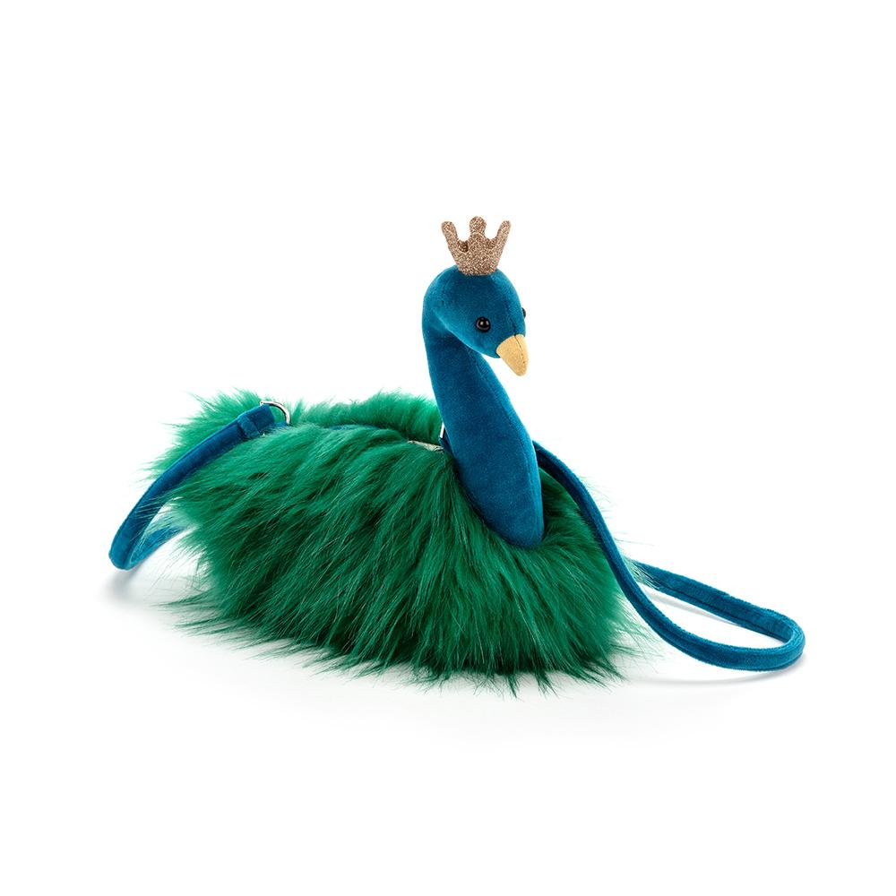 Jellycat Fancy Peacock Tasche - grün