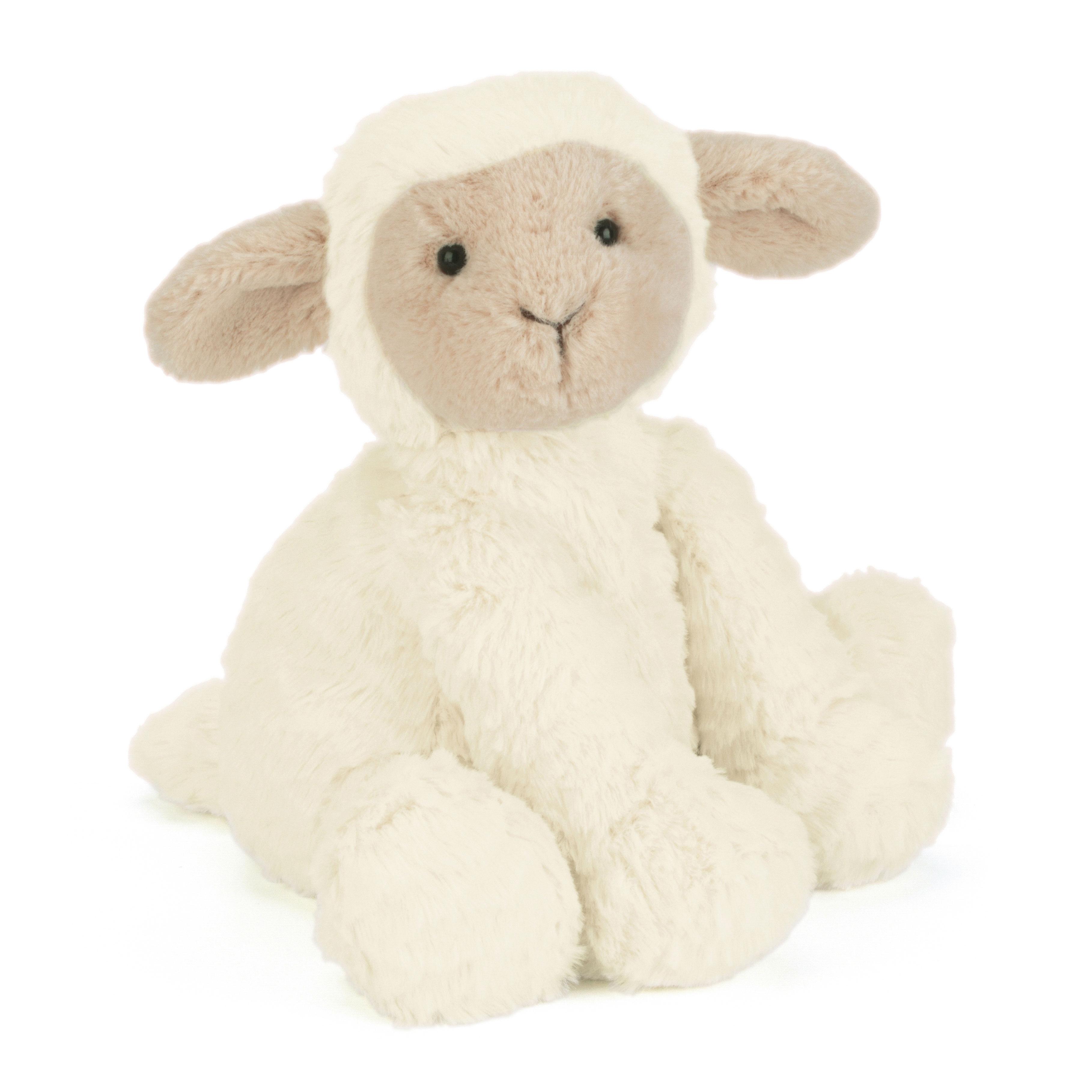 Jellycat Fuddlewuddle Lamb Medium in white - 23 cm