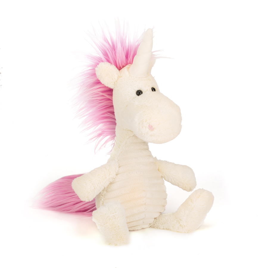 Jellycat Snagglebaggle Ursula Unicorn in weiss - 35 cm