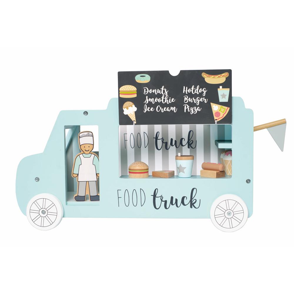 Jabadabado Holz Food Truck - Blau