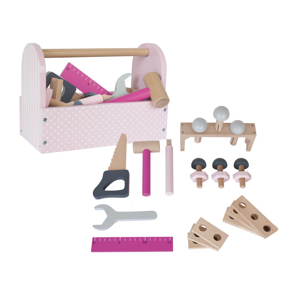 Jabadabado Werkzeugkiste - rosa