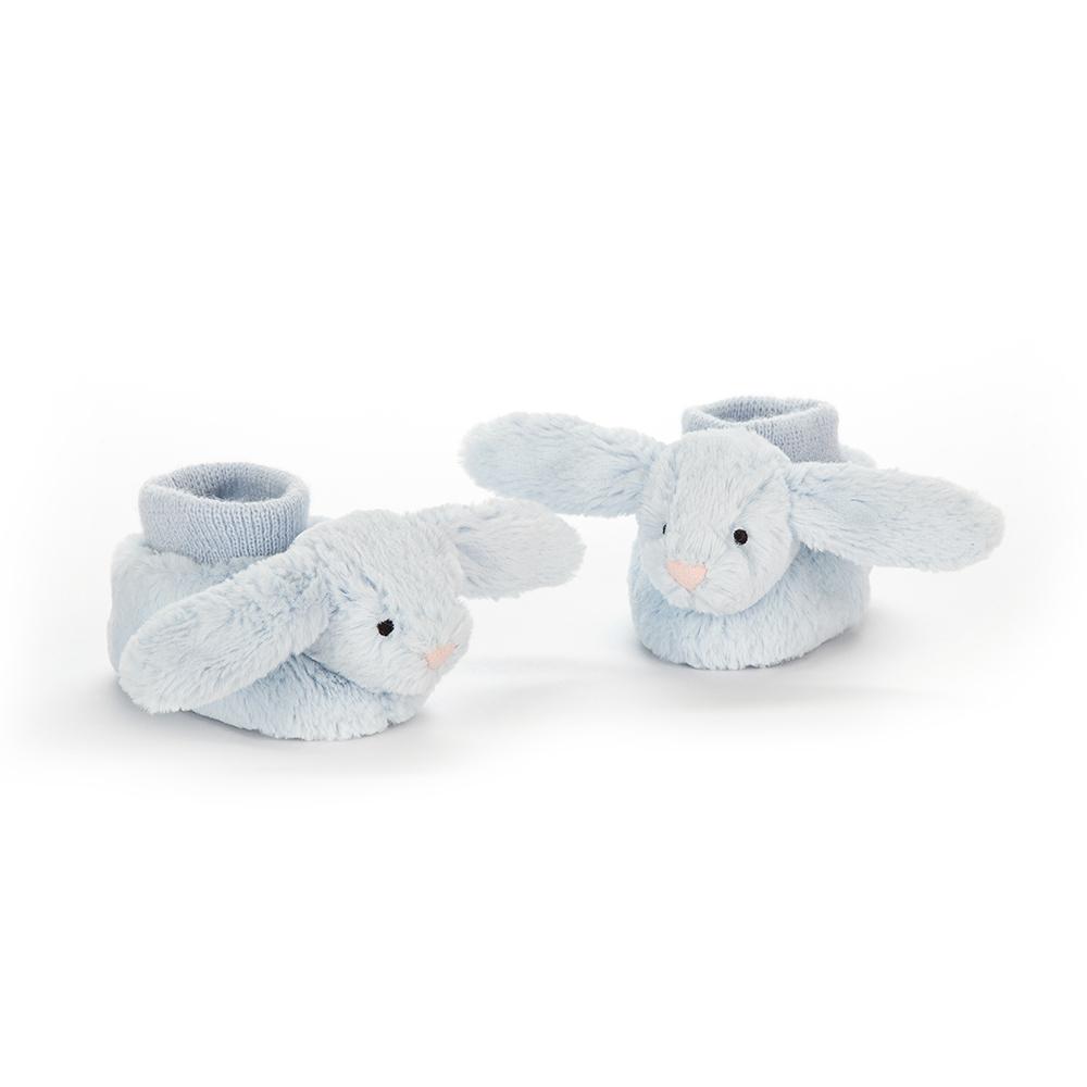 Jellycat Bashful Blue Bunny Booties - blue