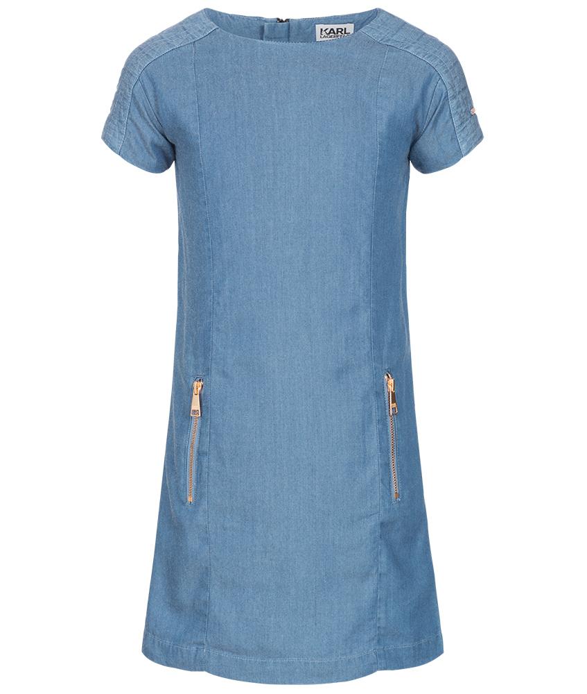 Karl Lagerfeld Jeanskleid in denimblau