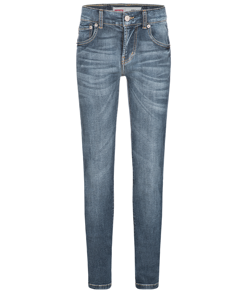 Levis Skinny Jeans 510 in verblasstem blau