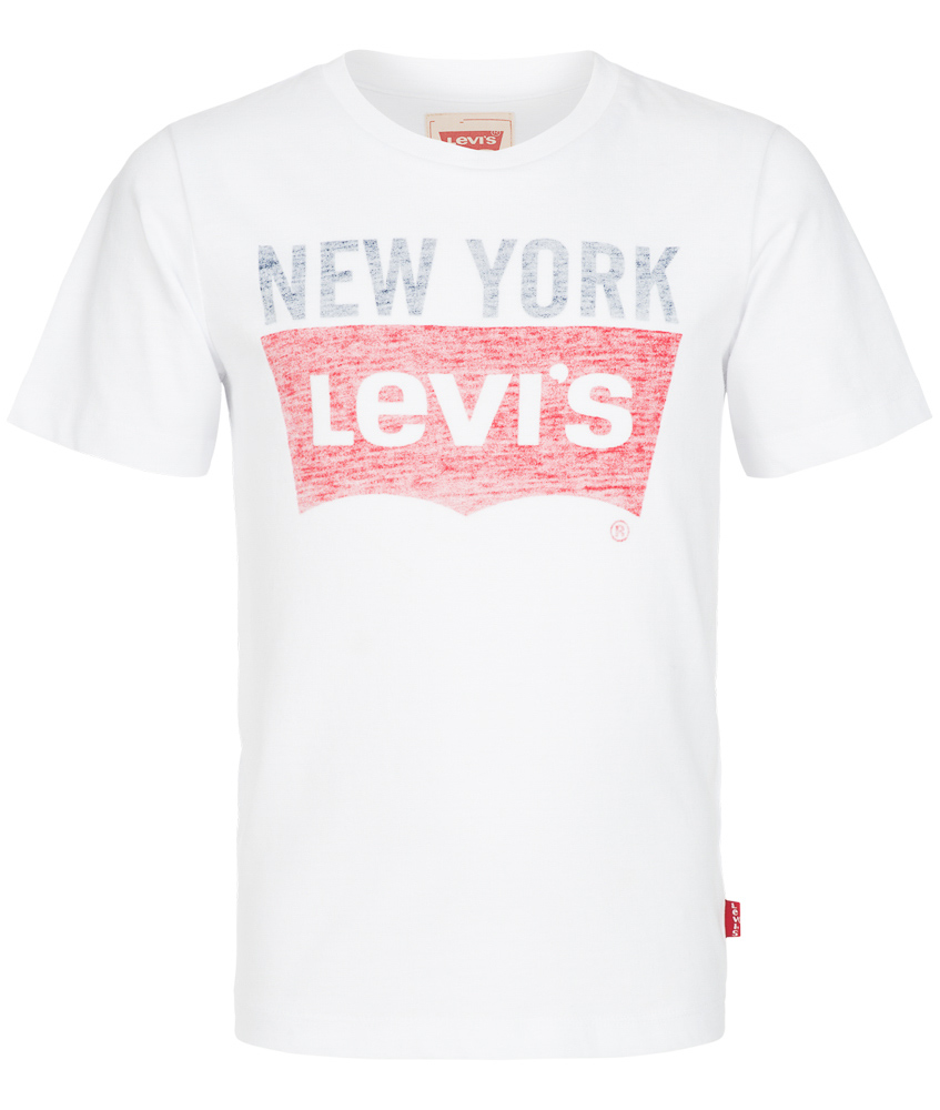 kids style lounge levis shirt mit verwaschenem logo. Black Bedroom Furniture Sets. Home Design Ideas