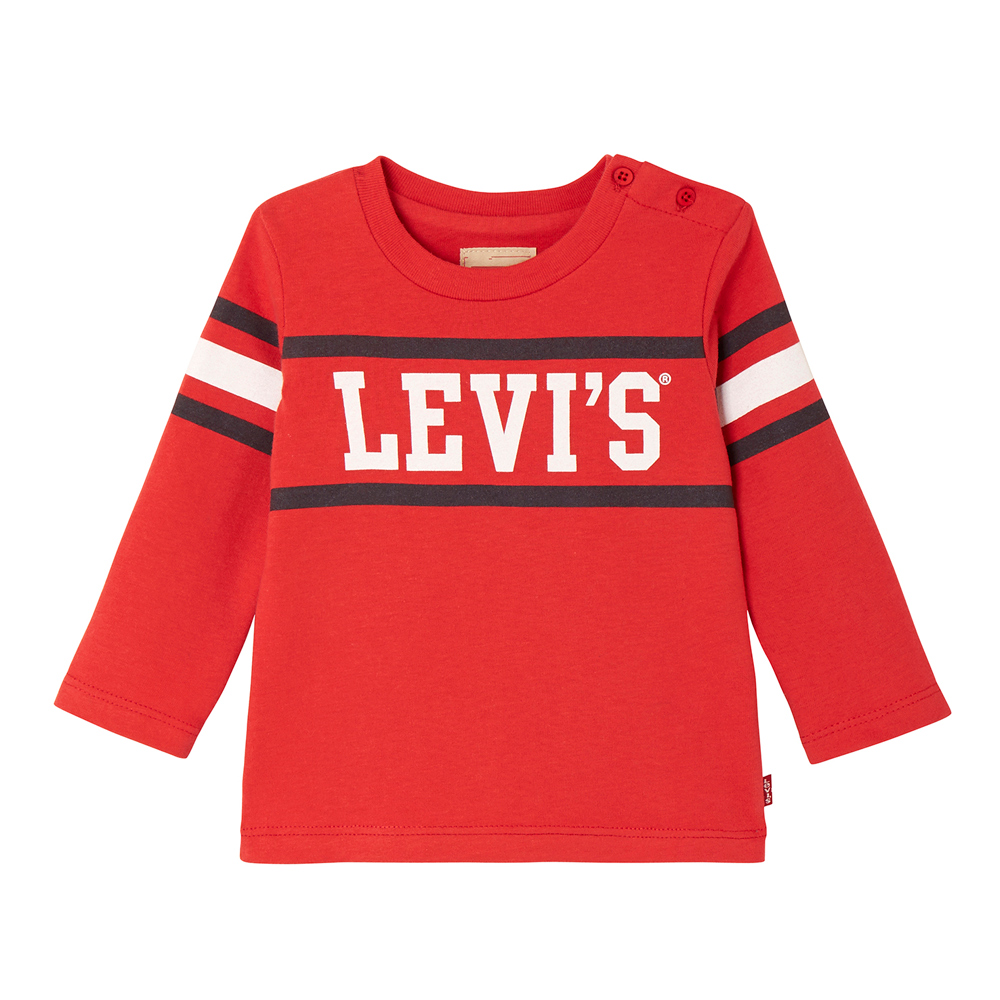 Levi's Baby retro longsleeve Ray in red