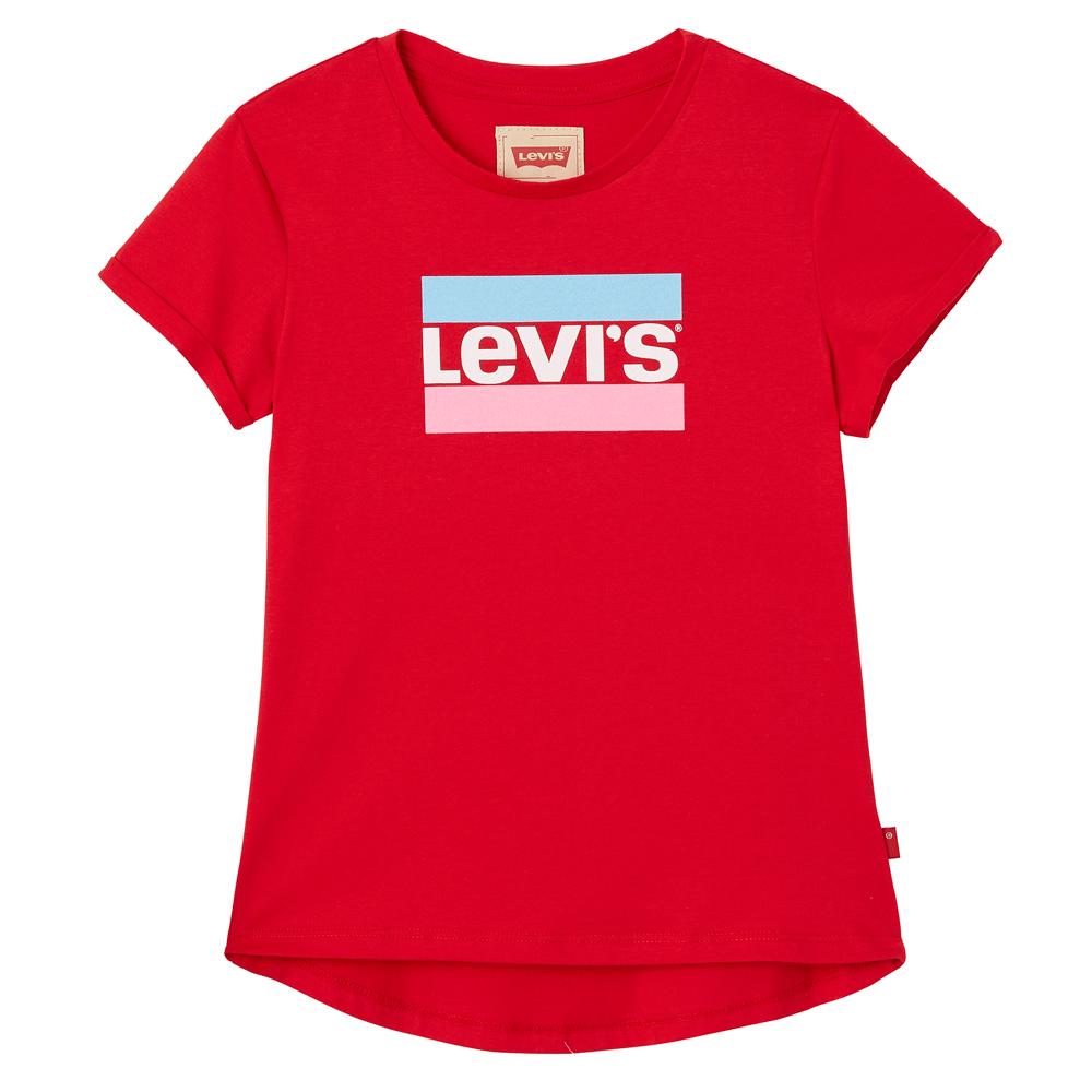 Levi's T-Shirt Marble mit Hero Logo - rot