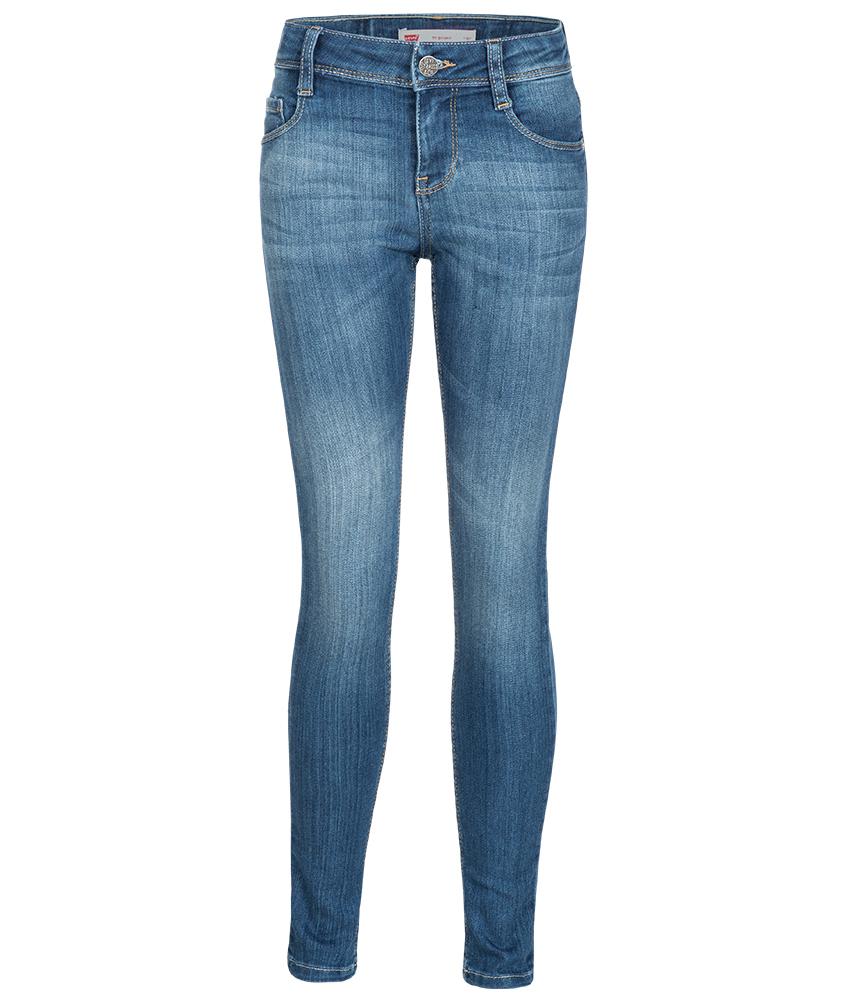 Levi's 711 5-Pocket skinny Jeans in blau