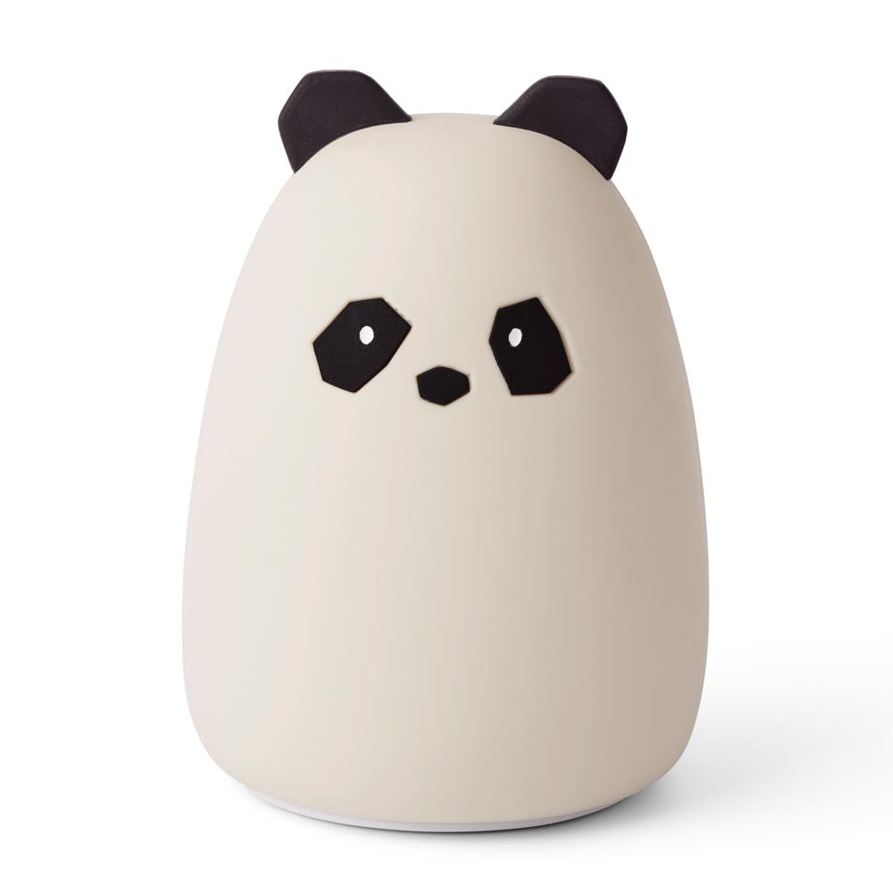 Liewood aufladbares Silikon Nachtlicht Winston Panda - creme de la creme