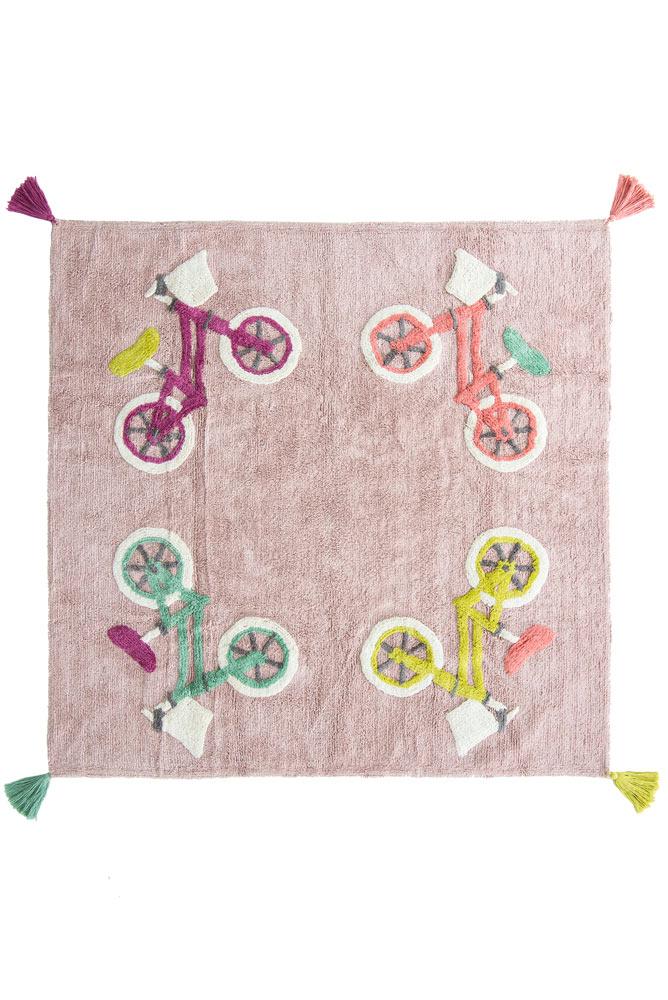 Minividuals Teppich Biker quadratisch - 150 x 150cm