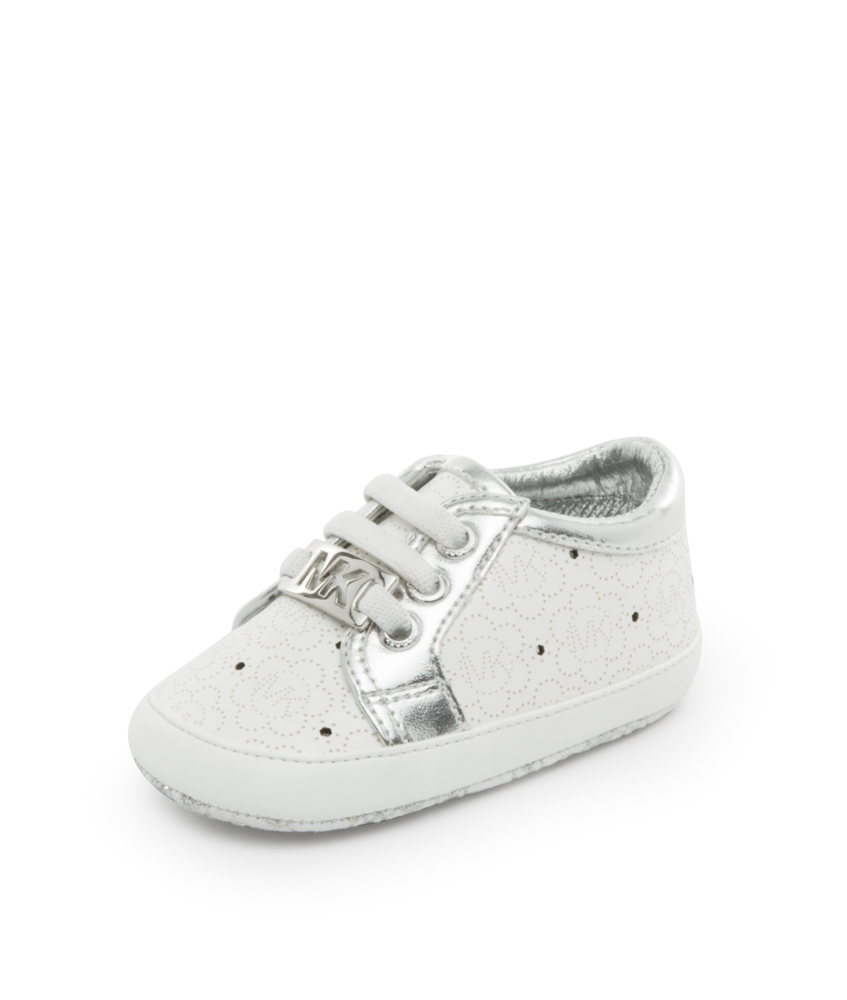 the best attitude 012d6 6a9dc Kids Style Lounge | Michael Kors Baby Sneaker Alison - weiß ...