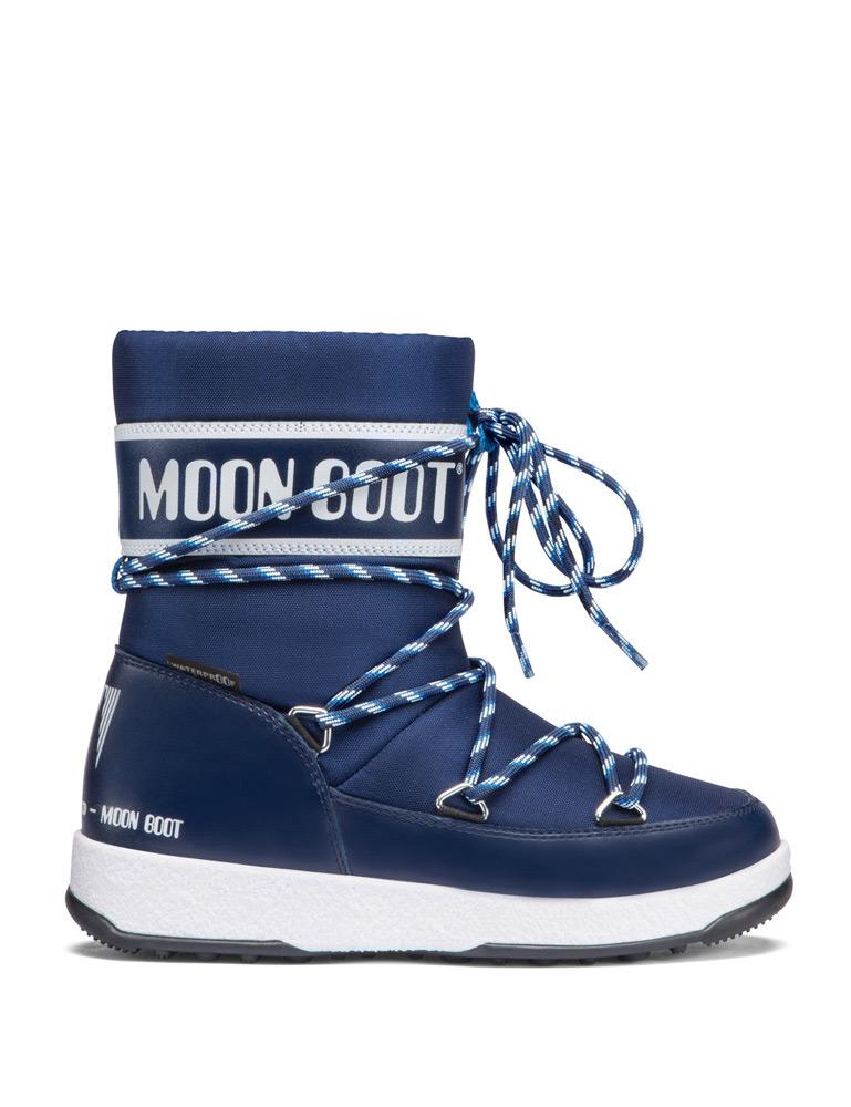 Moon Boots JR Boy Sport in navy